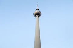 Fernsehturm da torre da tevê de Berlim Fotografia de Stock