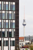 Fernsehturm em Berlim Imagens de Stock Royalty Free