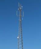 Fernsehturm mit Antennen Stockfotografie