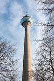 Fernsehturm Rheinturm Düsseldorf Royalty Free Stock Photo