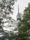 Fernsehturm Stuttgart. (English: Stuttgart TV Tower) is a 216.61 m (710.7 ft) telecommunications tower in Stuttgart, Germany. It is a popular tourist attraction Stock Photos
