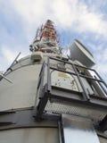 Fernsehturm Stuttgart. (English: Stuttgart TV Tower) is a 216.61 m (710.7 ft) telecommunications tower in Stuttgart, Germany. It is a popular tourist attraction Royalty Free Stock Images