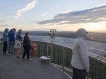 Fernsehturm Stuttgart top observation deck Royalty Free Stock Photo