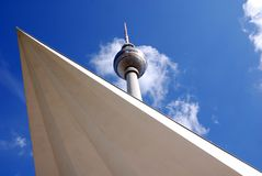 Fernsehturm (Television Tower) Stock Image
