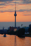 Fernsehturm (Television Tower) Stock Photo