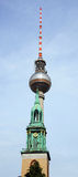 Fernsehturm (Television Tower) Royalty Free Stock Images