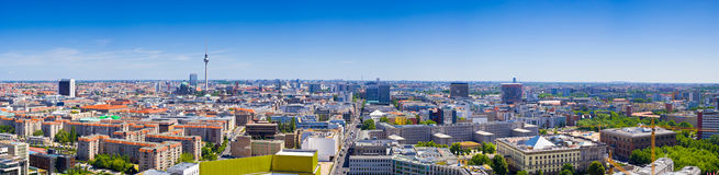 Fernsehturm television tower, Berlin views, Germany Royalty Free Stock Images