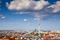 Fernsehturm television tower, Berlin views, Germany Stock Photography