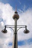 Fernsehturm (Telewizi Wierza) Obrazy Stock
