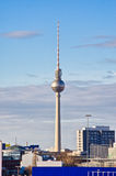 Fernsehturm tower in Berlin, Germany Stock Images