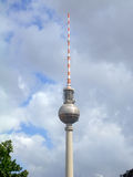 Fernsehturm (TV Tower) in Alexanderplatz, Berlin Stock Photos