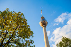 Fernsehturm (TV Tower), Berlin Alexanderplatz Royalty Free Stock Image