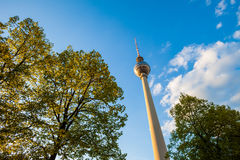 Fernsehturm (TV Tower), Berlin Alexanderplatz Stock Photography