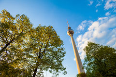 Fernsehturm (TV Tower), Berlin Alexanderplatz Royalty Free Stock Photo