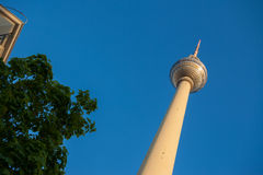 Fernsehturm (TV Tower), Berlin Alexanderplatz Stock Photos