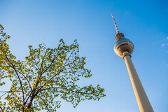 Fernsehturm (TV Tower), Berlin Alexanderplatz Royalty Free Stock Images