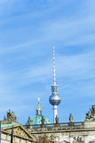 The Fernsehturm (TV Tower) in Berlin Royalty Free Stock Images