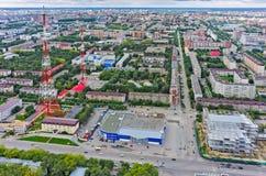 Fernsehturm in Tyumen-Stadt Russland Stockbilder