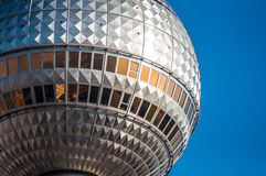Fernsehturm. View of the high Fernsehturm in Berlin Royalty Free Stock Image