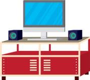 Fernsehzahnstange Stockbilder