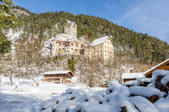 Fernstein Castle in Tirol Austria Stock Photo