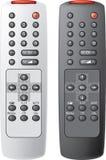 Fernsteuerungs der Fernsehapparat. Stockfotografie