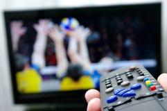 Fernsteuerungs - Volleyball Lizenzfreie Stockbilder
