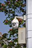 Fernsteuerungsverkehrs-Überwachungskamera Lizenzfreie Stockbilder