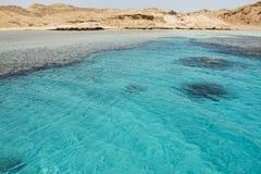 Ferntropeninsel und Koralle lizenzfreies stockbild