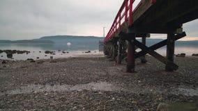 Fernwood Dock, Salt Spring Island, BC, 4K. UHD stock video