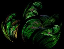 ferny fractal Stock Photo