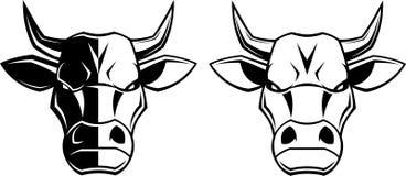 Ferocious bull Royalty Free Stock Photography