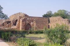 Feroz-Schah Kotla, Neu-Delhi Stockfoto