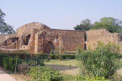 Feroz schah Kotla, New Delhi Arkivfoto