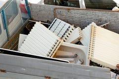 Ferraccio, servizio italiano per il riciclaggio del metallo Fotografia Stock Libera da Diritti
