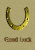 Ferradura, ferradura excelente do cavalo Foto de Stock Royalty Free