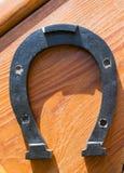 Ferradura metálica Fotografia de Stock