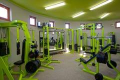 Ferragem da ginástica - interior da ginástica Fotografia de Stock Royalty Free
