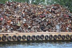 Ferraglia pronta per riciclare Immagini Stock