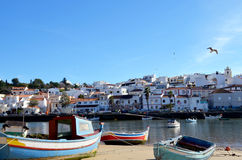 Ferragudo in algarve Royalty Free Stock Image