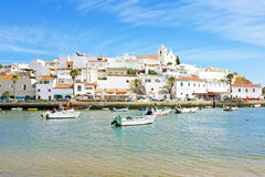 Ferragudo in the Algarve Portugal Stock Image