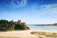 Ferragudo Fortifications Royalty Free Stock Photos