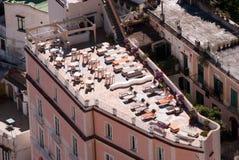 Ferraioli Palace (open space of Atrani city, Amalfi Coast, Italy Royalty Free Stock Images