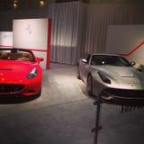 Ferrais. Ferrari California and F12 awesome Stock Image
