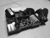 Ferramenta da construção - pontas para o gravador fotografia de stock
