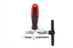 A ferramenta da corrente da bicicleta Imagens de Stock