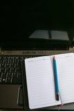 Ferramenta da escrita no portátil do computador Imagem de Stock Royalty Free