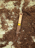 Ferramenta de jardinagem do passado Foto de Stock