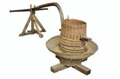Ferramenta de trituração do arroz handmade Imagem de Stock Royalty Free