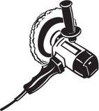Ferramenta elétrica do amortecedor ilustração do vetor